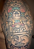 aztec tattoo :: aztec tattoo